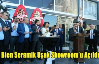 Bien Seramik Uşak Showroom'u Açıldı