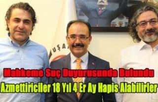 ESKİ BAŞKAN YARDIMCISI VE UTAŞ BAŞKANI'NA...