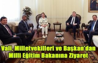 MİLLİ EĞİTİM BAKANINA UŞAK'TAN EN ÜST...