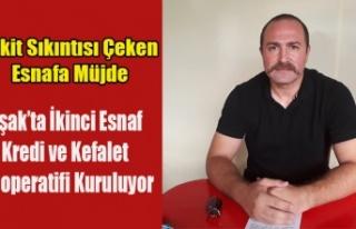 UŞAK'TA İKİNCİ ESNAF KEFALET KOOPERATİFİ...