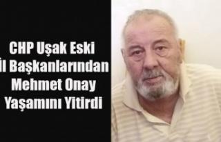 CHP ESKİ İL BAŞKALARINDAN MEHMET ONAY YAŞAMINI...