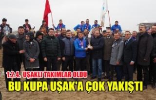 CİRİT'TE REKOR KIRDIK, BU KUPALAR UŞAK'A...