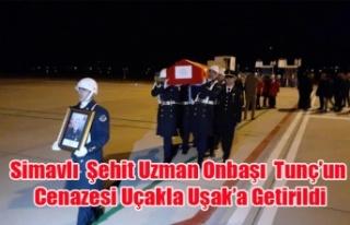 Simavlı Şehit Uzman Onbaşı Tunç'un Cenazesi...