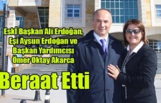 ALİ ERDOĞAN AYSUN ERDOĞAN VE ÖMER OKTAY AKARCA...