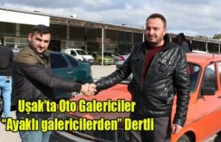 "OTO GALERİCİLER ""AYAKLI GALERİCİLER""DEN..."