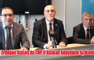 UŞAK CHP DE İL BAŞKANLIĞI YARIŞI KIZIŞIYOR ERDOĞAN...