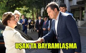 UŞAK'TA BAYRAMLAŞMA