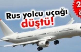 Rus yolcu uçağı düştü:224 ölü