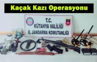 Kaçak Kazı Operasyonu