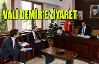 VALİ DEMİR'E ZİYARET