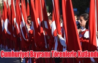 Uşak'ta 29 Ekim Cumhuriyet Bayramı Coşkuyla Kutlandı