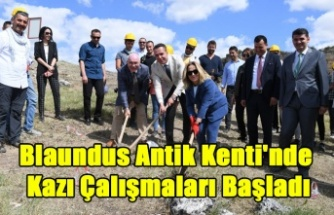 Blaundus Antik Kenti'nde Kazı Çalışmaları Başladı