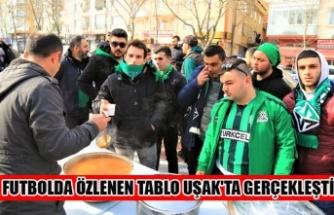 FUTBOLDA ÖZLENEN TABLO UŞAK'TA GERÇEKLEŞTİ
