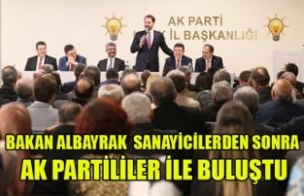 BAKAN ALBAYRAK UŞAK AK PARTİ TEŞKİLATINI ZİYARET ETTİ