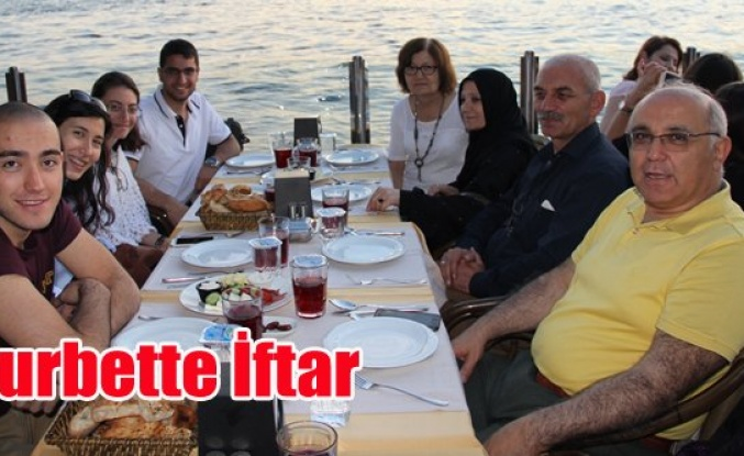 İSTANBUL'DAKİ KARAHALLILI GENÇLER İFTARDA BULUŞTU