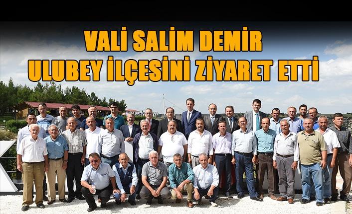 Vali Salim Demir Ulubey İlçesini Ziyaret Etti