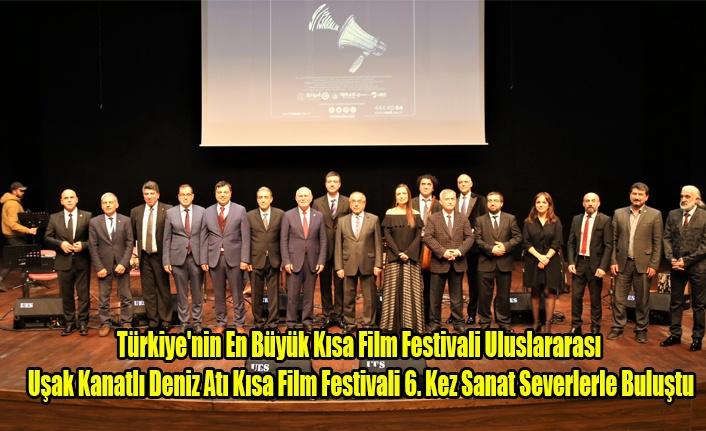 Uluslararası Uşak Kanatlı Deniz Atı Kısa Film Festivali 6. Kez Sanat Severlerle Buluştu