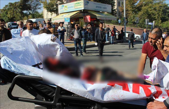 Başkent´te Patlamada 30 ölü, 126 yaralı