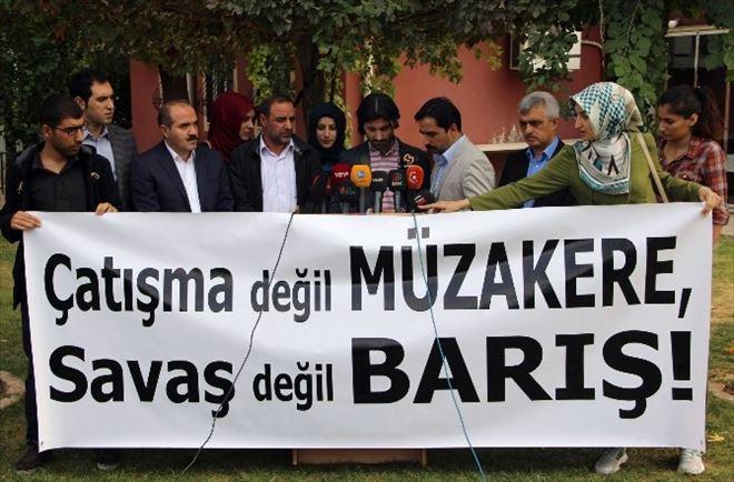 Diyarbakır'da 14 STK'dan Barış Çağrısı