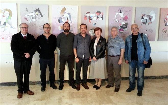 Aslan'ın 'Kadın Ve Toplum' Temalı Sergisi Ankara'da Açıldı