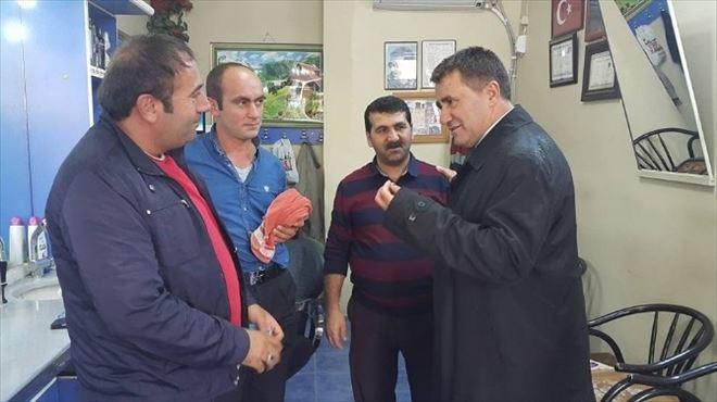 MHP'li Ertürk Çimen'e Narman'da İlgi Büyüktü