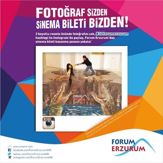 3 Boyutlu Fotoğraf Çektirmek İçin TEK Adres Forum Erzurum