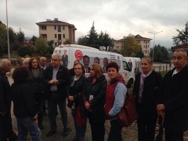 CHP Milletvekili Adayı Zafer Teber Dur Durak Bilmeden Çalışıyor