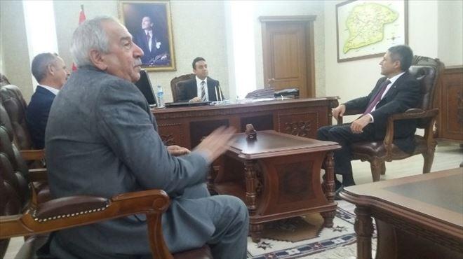 CHP Adayı Yiğit, Kağızman'da Esnafları Ziyaret Etti