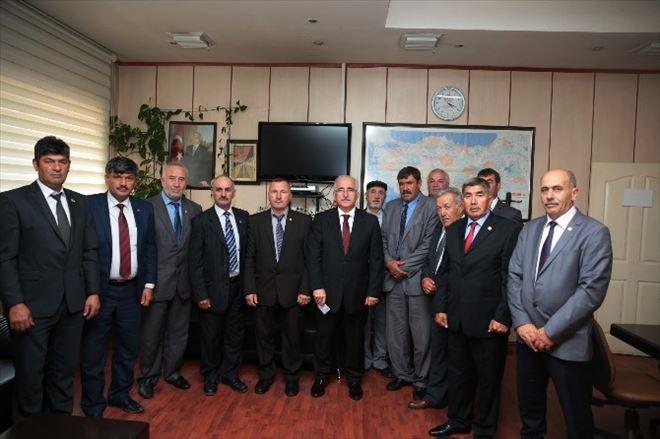 Vali Tuna'dan Ziraat Odası Başkanlarına Ziyaret