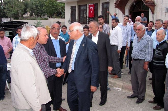 Milletvekili Mehmet Erdoğan, Şehit Polis Tayfun'un Ailesine Taziye Ziyaretinde Bulundu