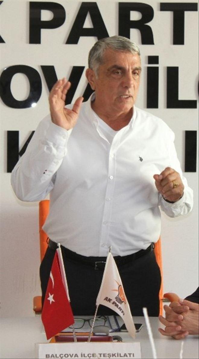 "AK Partili Kalkan, ""Meselemiz, Memleket Meselesi"""