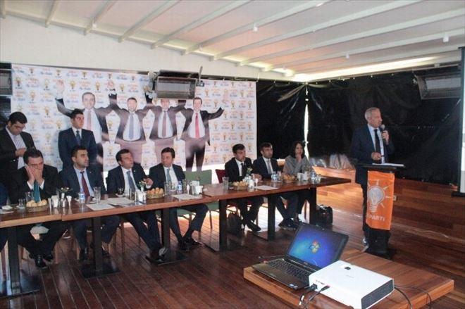 AK Parti Proje Tanıtım Toplantısı Yaptı