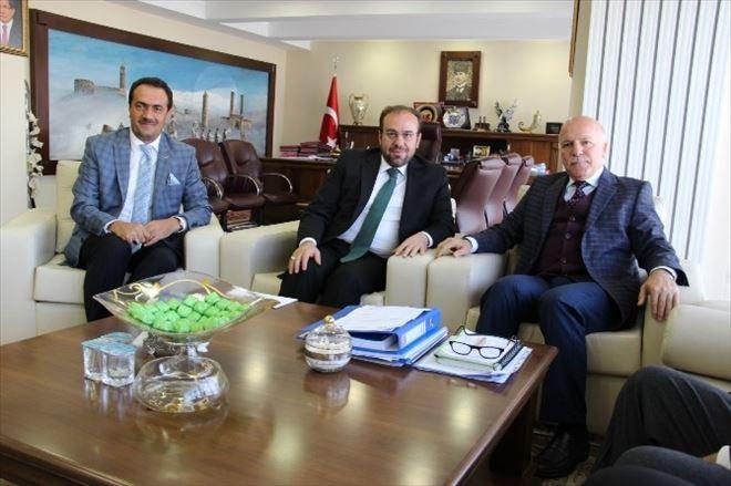 Erzurum İl Müftülüğü Ve Din Görevlileri Derneğinden Belediyeye Ziyaret