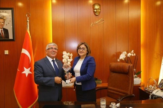 Türkiye Sakatlar Derneği Şube Başkanlarından Fatma Şahin'e Ziyaret