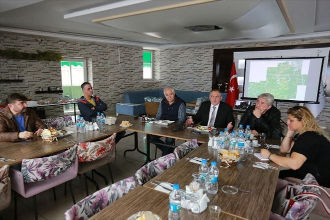 Başkan Yılmaz Basın Mensuplarıyla Yemekte Buluştu