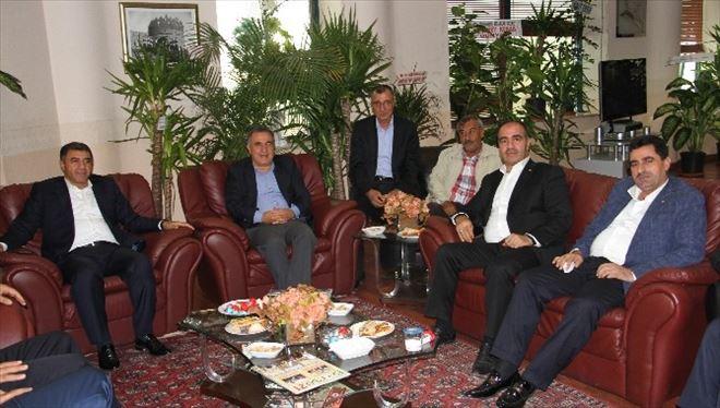 AK Partili Bal'dan Dtb'ye Ziyaret