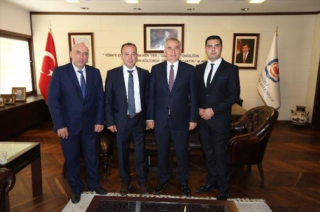 Avrupa Denizlililer Derneği'nden Başkan Zolan'a Ziyaret