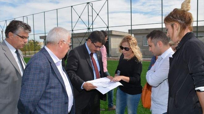 Şehzadeler Belediyesi Spor Tesisleri Açılışa Hazır