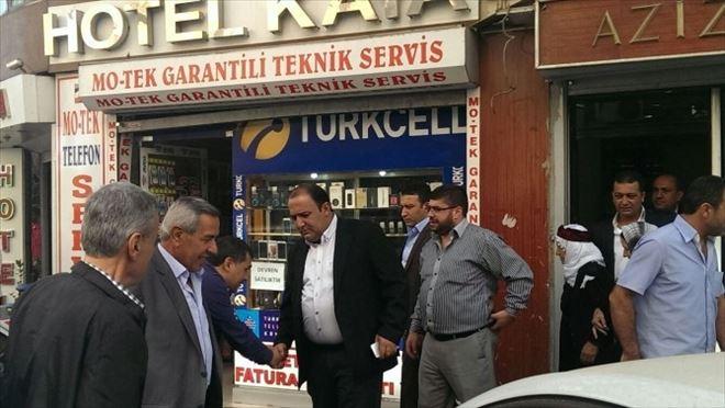 Yontürk'ten Sur Esnafına Geçmiş Olsun Ziyareti