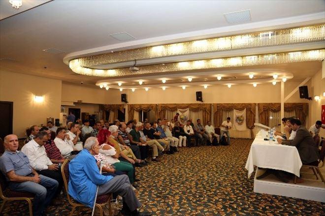 Gazeteciler Kızkalesi'nde Mesleki Sorunları Tartıştılar