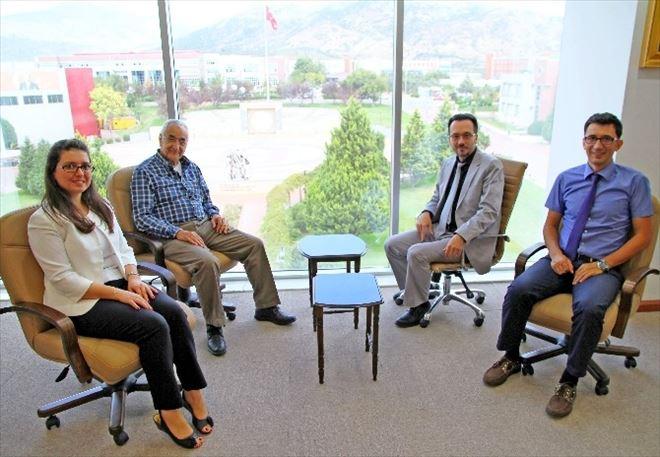 Prof. Dr. Doğan Cüceloğlu'dan ADÜ Rektörü Bircan'a Ziyaret