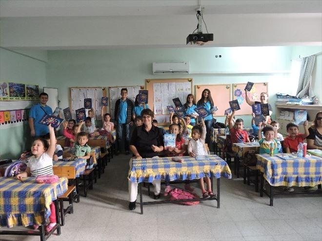 Köyceğiz'de THK'dan Öğrencilere Kırtasiye Yardımı