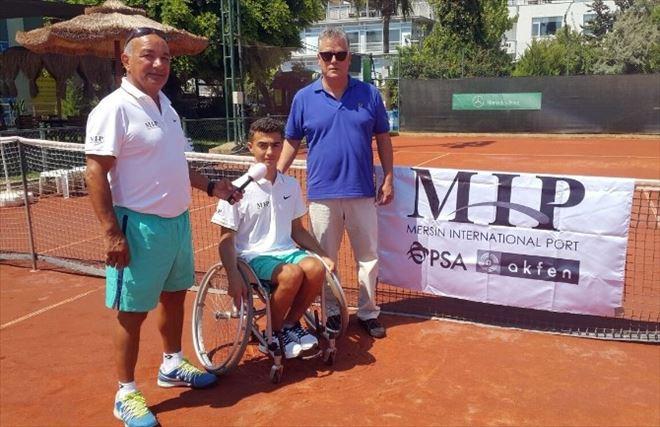 Mersinli Milli Tenisçi Oğuzhan, Itf Future Turnuvası'na Katıldı