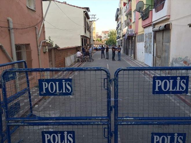 HDP Akhisar İlçe Binası Çevresinde Yoğun Güvenlik Önlemi