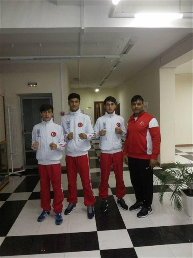 Dünya Boks Şampiyonasında Milliler 3 Madalyayı Garantiledi