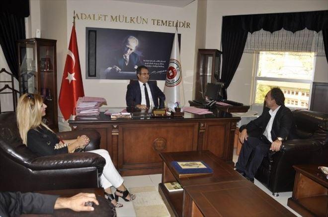 AK Partililer Taşkale Ve Korkmaz'ı Ziyaret Etti