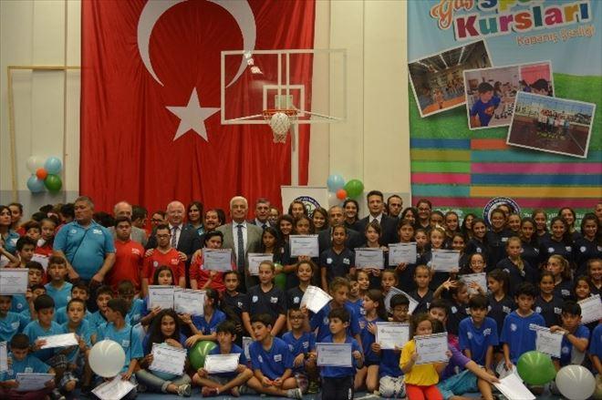Büyükşehir Yaz Spor Okulları Sona Erdi