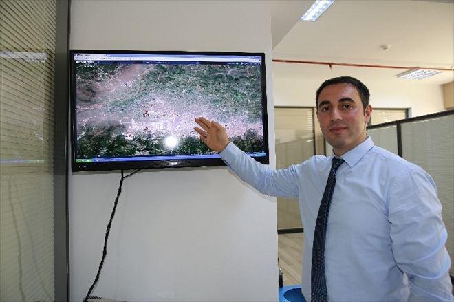 Hafriyat Araçlarına Uydu Takibi