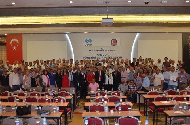 Devlet Personel Başkanlığı'nın Bölgesel Eğitim Programı'na Kayseri'den 26 Yönetici Katıldı