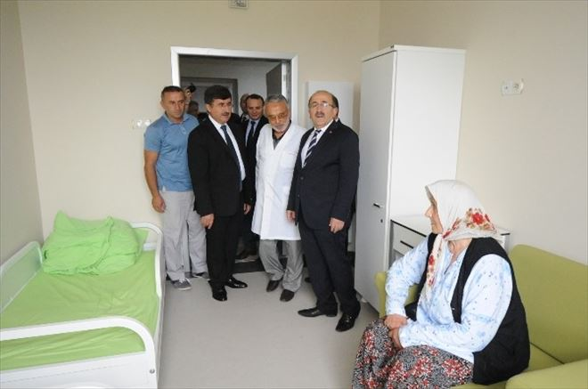 Kanuni Eğitim Ve Araştırma Hastanesi Numune Kampüsü'nde Pskiyatri Poliklinikleri Ve Yataklı Servisleri Hizmete Açıldı